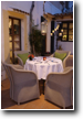 LIMÓN y CHELO - The cosy Restaurant with its lovely patio in the heart of the cultural centre